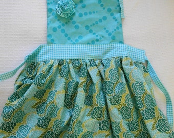 Children's Single Flower Apron