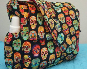 Sugar Skulls Diaper Bag