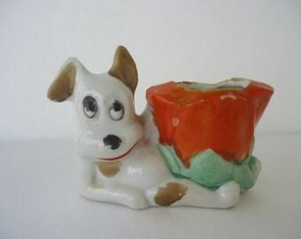Terrier Dog Toothpick Holder