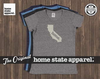 California Home. T-shirt- Womens Cut