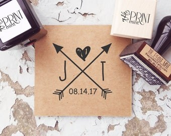 Wedding Stamp, Save the Date Stamp, Custom Rubber Stamp, Personalized Wedding Stamp, Wedding Self inking Stamp, Wedding Favors  10139