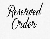 Reserved Listing for Susan (sggoldbenberg)