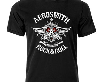 Aerosmith Authentic Rock And Roll Rock T Shirt