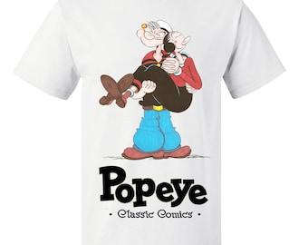 Boys or Girls Popeye Kids T Shirt