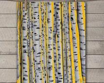 Gray and Yellow Wall Art - Nature Art Print