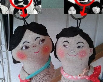 Portrait doll