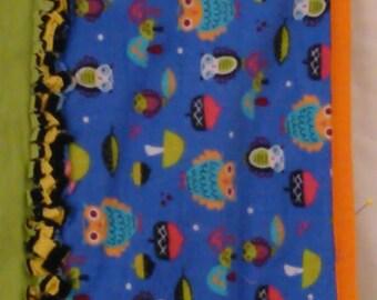 Kids Owl Blanket