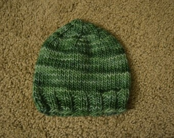 Hand-Knitted Baby Boy Hats
