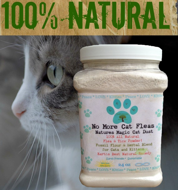 Natural flea control for cats and dogs