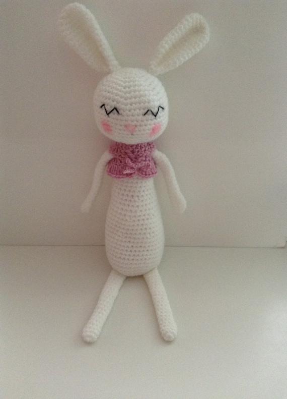 Amigurumi Sleeping Bunny : Amigurumi Crochet Sleepy Bunny. Great Gift by ...