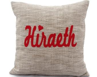 Hiraerth Cushion,   Handmade appliquéd