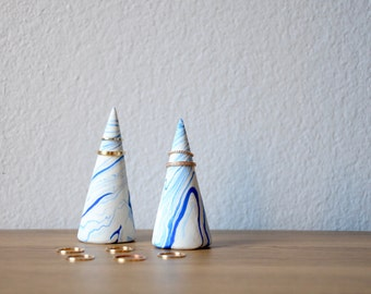 Set of 2 Ring Holder Cones