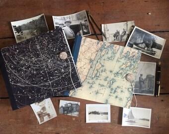 Custom Map Photo Album