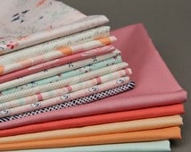 PAPERIE by Amy Sinibaldi - Art Gallery - COMPLETE Fat Quarter Bundle Collection including PANEL and coordinating solids