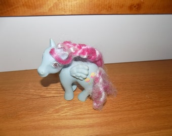 My Little Pony Sugar Apple Candy Cane Ponies Vintage Hasbro 1980's MLP Pony Horse Ponies Doll Dolls Toy Toys Action Figure