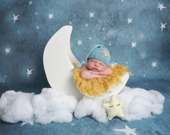 Newborn Baby Photography Photo Prop Carriage Boy or Girl