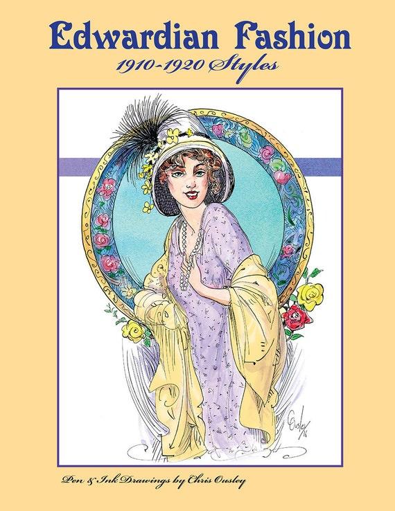 Edwardian Fashion 1910 1920 Styles By ChrisOusleysStudio