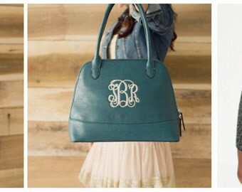 Monogrammed Syndey Purse