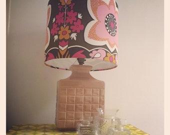 Reduced *1970's Royal Doulton Cubic Table Lamp Base - Ceramic