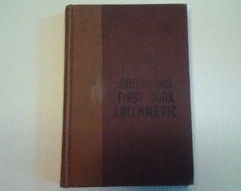 Antique Arithmetic Book