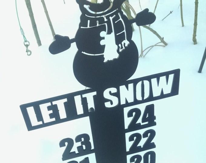Snowman Snow Meter