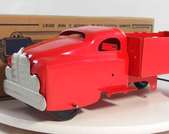 Vintage 1950's Banner Delivery Truck with Box - Near Mint