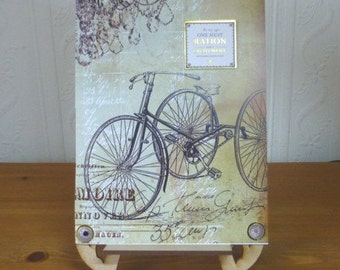 Something Special Mans Bicycle Vintage Style Card