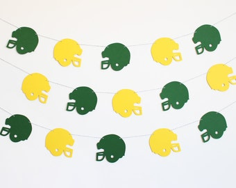 Football Party Banner - Customizable Colors