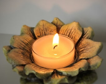 Floral Tealight Candle Holder