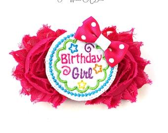 Birthday Girl Bow, Birthday Bow, Birthday Hair Bow, Birthday Headband, Birthday Hair Clip, Birthday Hairbow, Baby Birthday Bow