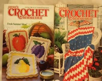 Annie's Crochet Newsletter  Books   Two Pattern Books