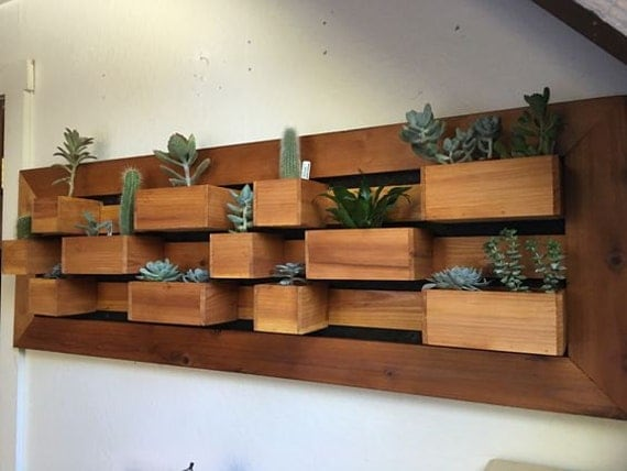 Free Shipping In Stock Modern Large Vertical Succulent