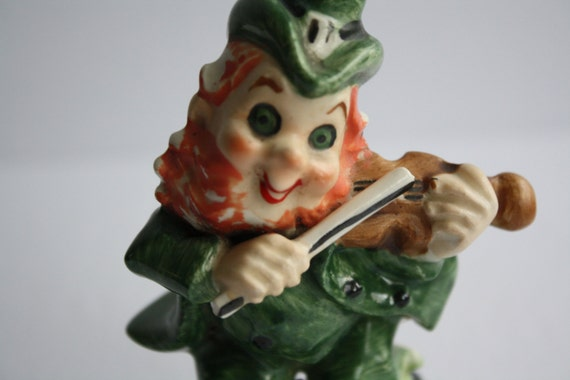 Lefton Leprechaun Fiddler