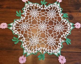 Vintage Crochet Doily  #24