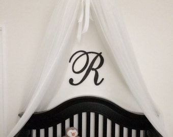 "16"" Wooden Letters - Nursery Decor - Wall Hanging Letters - Wooden Monogram Initials - Nursery Wall Decor - Wood Letters"