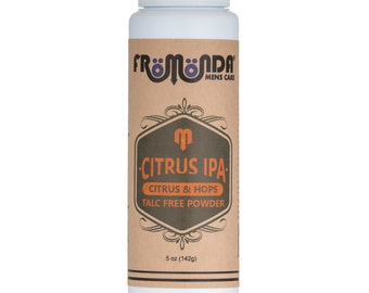 Citrus IPA Talc Free Body Powder 5oz