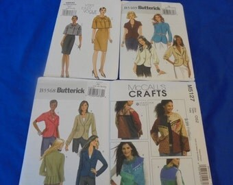 U Pick Sewing Patterns Jackets Capelet Cardigans Blazers Pencil Skirt