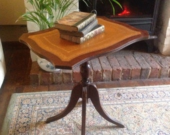 Vintage wine table end table side table