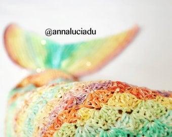 Crochet Kit, Mermaid with openning, Crochet mermaid kit, mermaid tail, crochet mermaid, crochet love, handmade mermaid, crochet mermaid tail