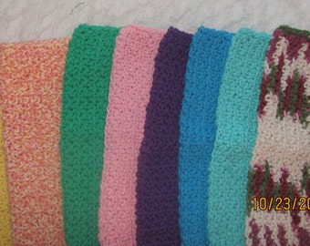Crochet Dish Cloths or Wash Cloths