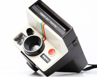 Vintage Polaroid OneStep One Step Rainbow Instant SX-70 Film Land Camera / Fully Operational
