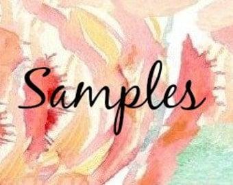 1-5 Fabric Samples