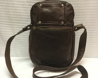 Brown Leather Bag, Shoulder Bag,purse,bag