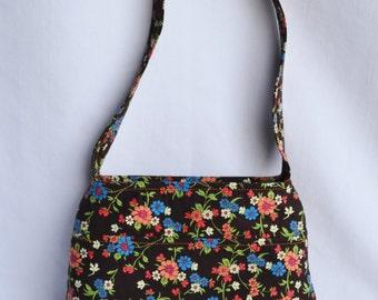 Arm Candy Handbag, Floral Handmade Handbag, Arm Candy Handbag, Handmade Small Purse, Essentials Handbag, Arm Candy Purse