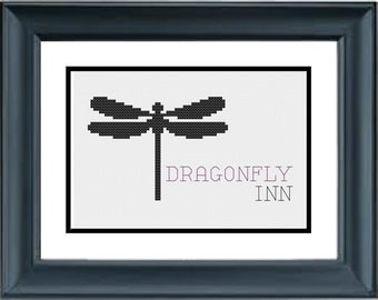 Dragonfly Inn - Gilmore Girls - PDF Cross-Stitch Pattern