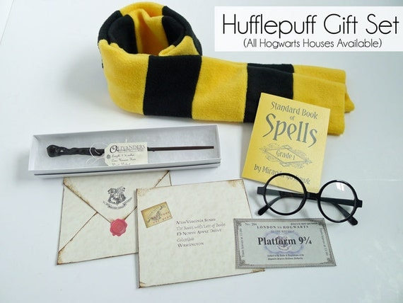 Harry Potter Book Gift Set ~ Harry potter gift set pieces costume
