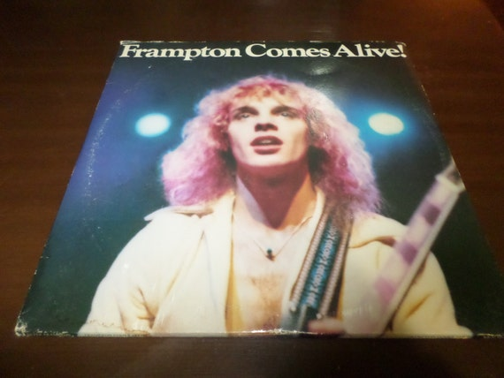 Intage 1976 Lp Record Peter Frampton Comes Alive A Amp M Records