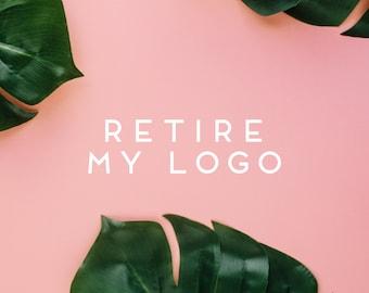 retire my logo