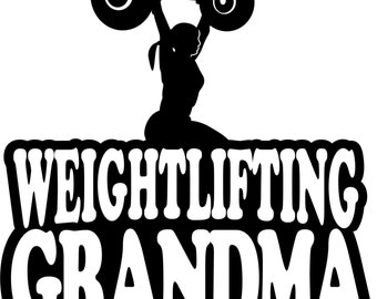 Weightlifting Grandma Shirt/ Weightlifting Grandma Gift/ Weightlifting/ Girl Weightlifter Weightlifting Grandma Short Sleeve Gildan T Shirt