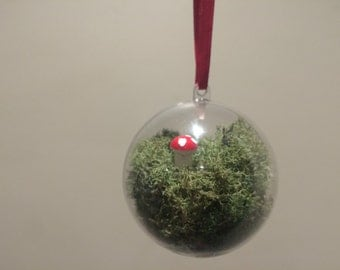 Terrarium Holiday Ornament